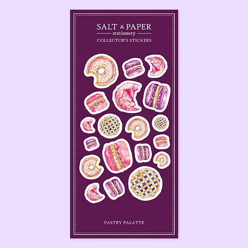 Salt x Paper | Collectors' Stickers | Pastry Palatte