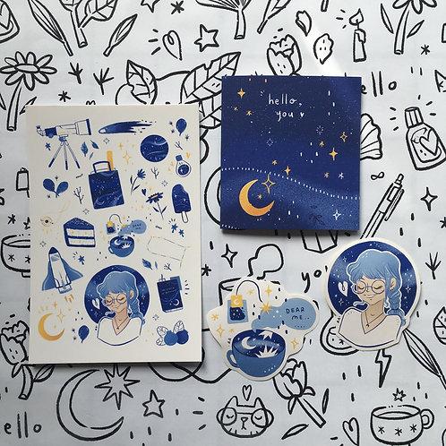 Azreenchan   Postcard Pack   June