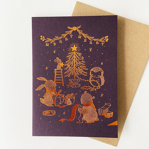 Whimsy Whimsical | Greeting Card | Merry Merry