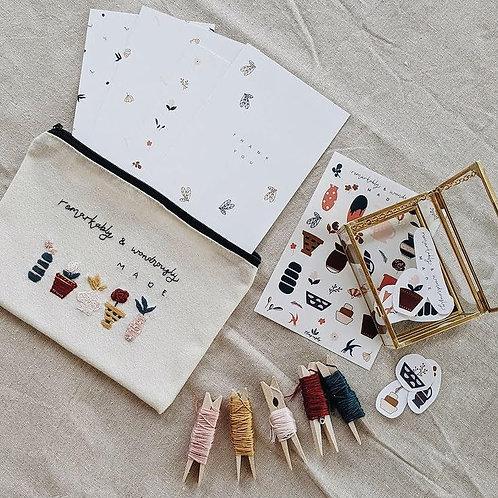 Eleagraphy | Remarkably & Wondrously Made Embroidery Kit Bundle