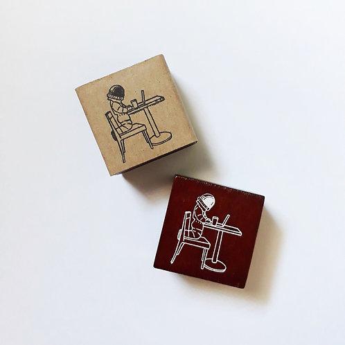 Paper Plans   Stamp   Laptop