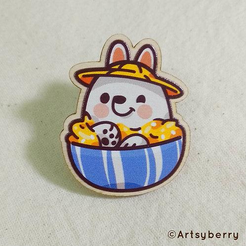 Artsyberry | Wooden Pin | Kakigori