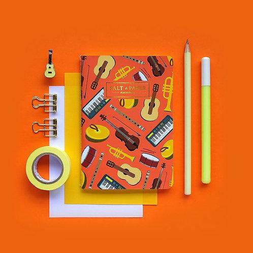 Salt x Paper | Notebook | Musical Instruments