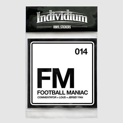 Individium | Vinyl Sticker | FM