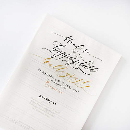 Practice Pack | Modern & Copperplate Calligraphy