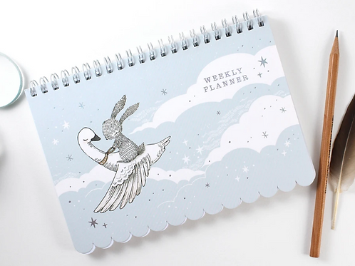 Whimsy Whimsical | Weekly Planner | Rabbit & Swan