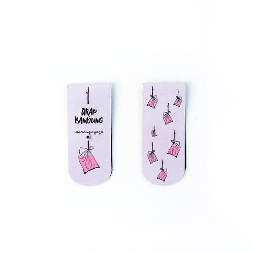 Warong Syaza | Bookmark Magnet | Sirap Bandung