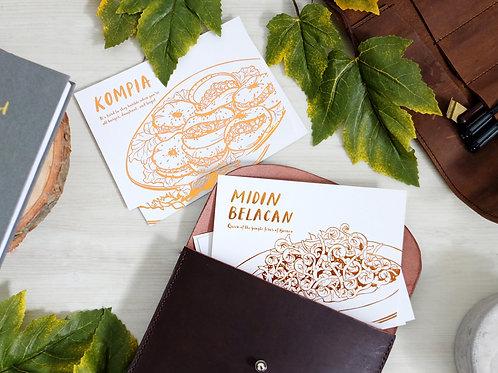 Nia Latif x FS | Postcards | Food Series