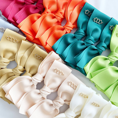 Triplets Trilogy Bow | Classic Bow Clips | M