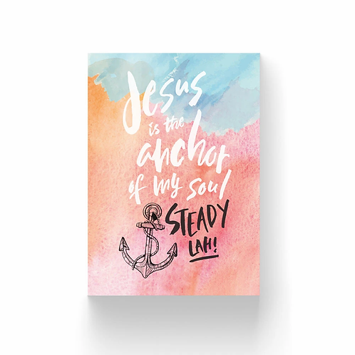 The Brave Assembly   Postcard Collection #1   Jesus is my Anchor