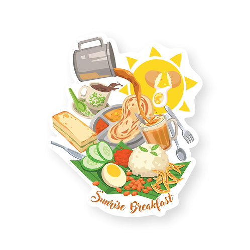 Loka Made | Postcard | MDP10 Malaysia's All-Day Breakfast