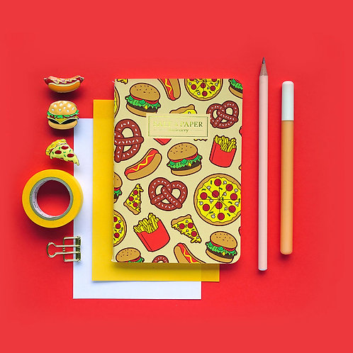 Salt x Paper | Notebook | Fast Food