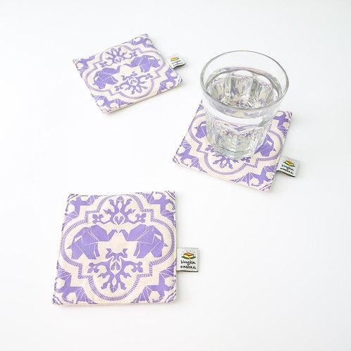 Bingka | Coaster  | MGJH | Purple