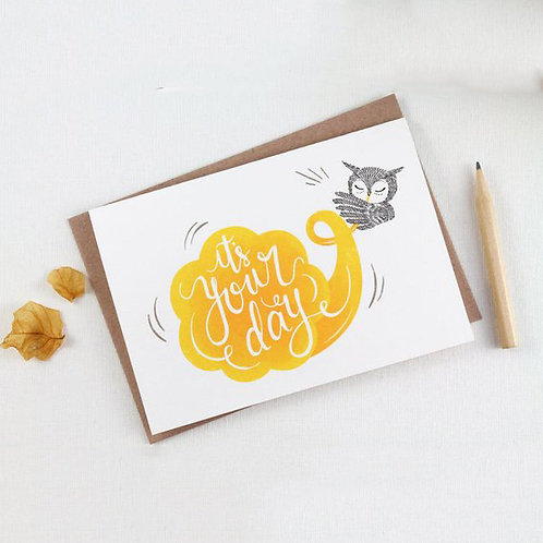 Whimsy Whimsical | Greeting Card | It's Your Day