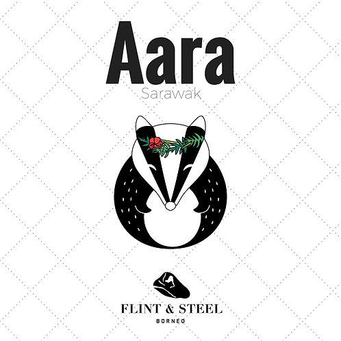 FS x Aara Sarawak | Enamel Pins | Tropical Badger
