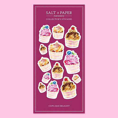 Salt x Paper | Collectors' Stickers | Cupcake Delight