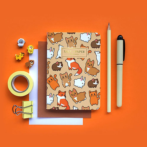 Salt x Paper | Notebook | Fluffy Animals