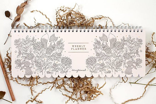 Whimsy Whimsical | Long Weekly Planner