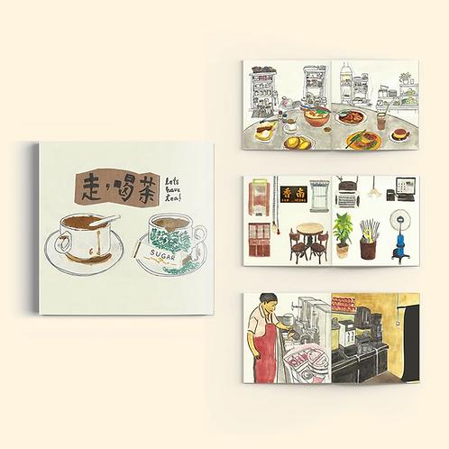 Jacktus   Illustration Zine   Let's Have Tea