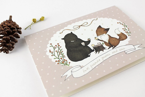Whimsy Whimsical | Greeting Card | Best Friends Forever and Ever