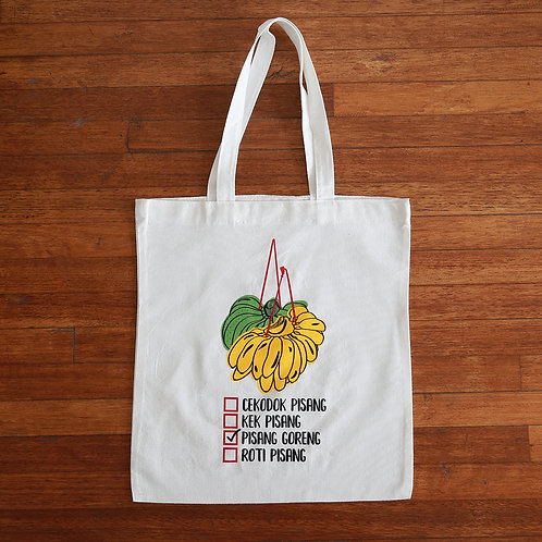 Home Too Much | Tote | Pisang