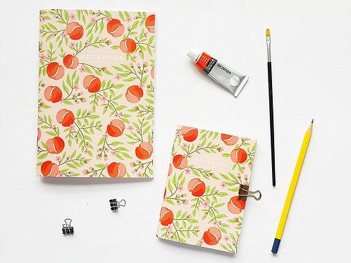 Pebble Paper Design | Notebook | Peach