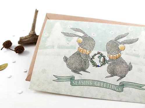 Whimsy Whimsical | Greeting Card | Seasons Greetings