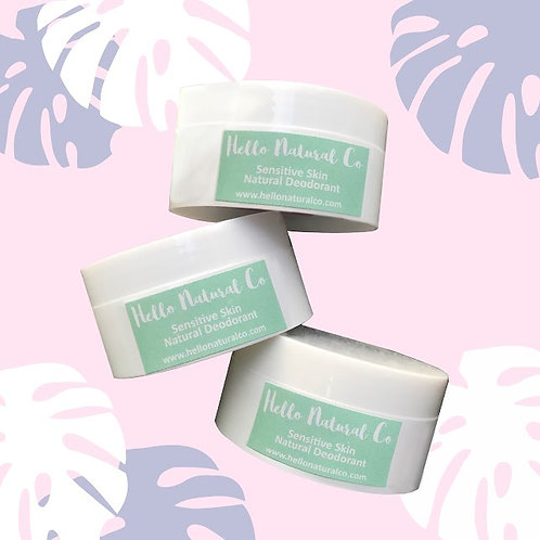 Hello Natural Co   Sensitive Skin Natural Deodorant Malaysia