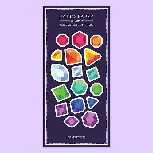 Salt x Paper | Collectors' Stickers | Gemstones