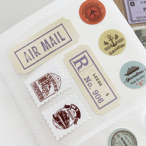 Stickers | Travel Labels