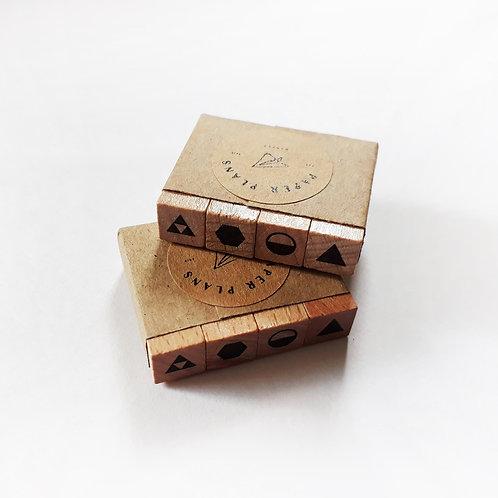 Paper Plans | Stamp | Solid (4 pcs)