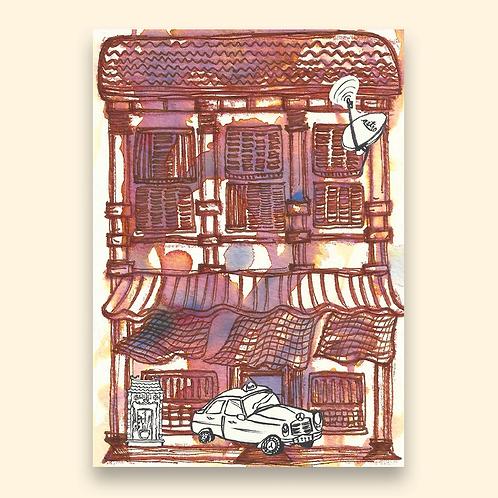 Jacktus | Kopitiam Postcards | Traditional Kopitiam
