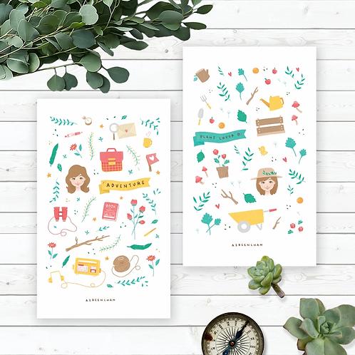 Azreenchan   Artprint   Little People