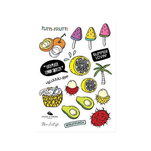 Nia Latif x FS | Interactive Stickers | Tutti Frutti