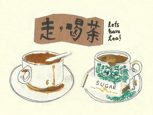 Jacktus   Kopitiam Postcards   Let's Have Tea