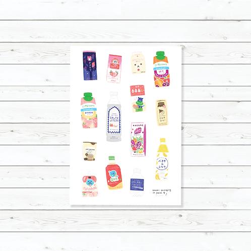 Azreenchan | Stickers | Kawaii Drinks