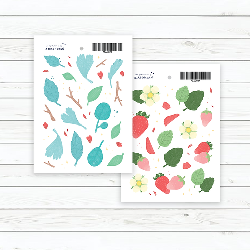 Azreenchan | Stickers | Leaves