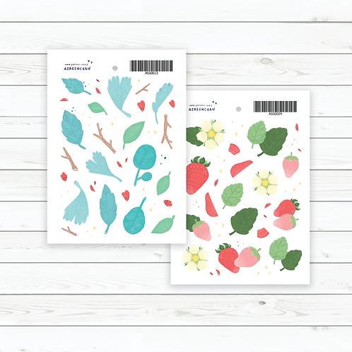 Azreenchan | Stickers | Strawberry