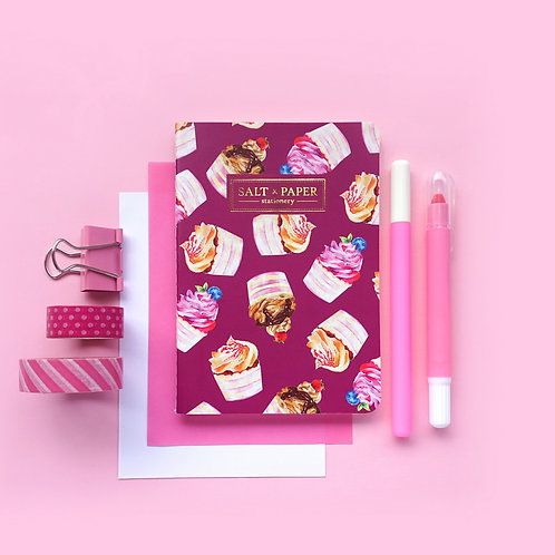 Salt x Paper | Notebook | Cupcake Delight