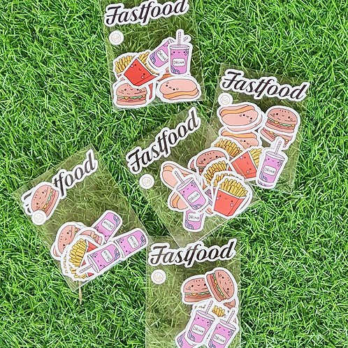 Voila&co | Stickers | Fast Food