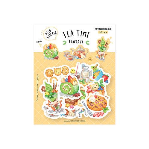 Loka Made   Deco Sticker   DS12 Tea Time Fantasy