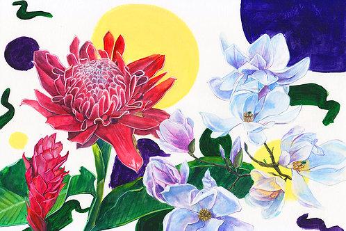 Hsieying | A4 Print | Bunga Kantan