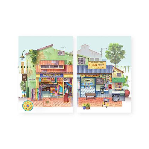 Loka Made | Pop Up Cards | Silky Saree and Barber Shop