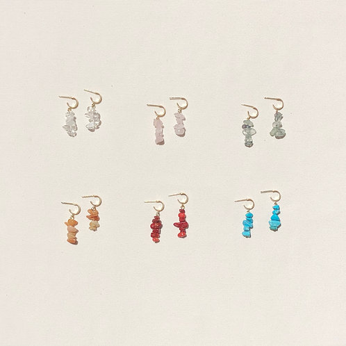 Sangon and Co.   Crystal Clear Earrings