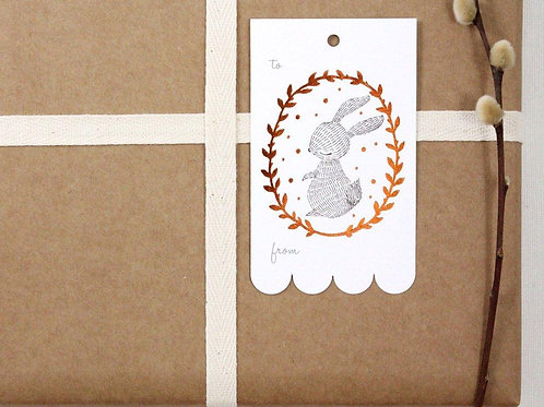 Whimsy Whimsical | Gift Tags | Rabbit