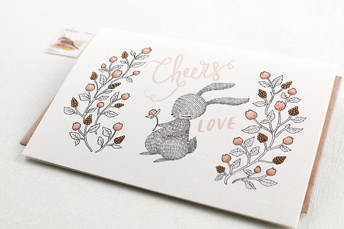 Whimsy Whimsical | Greeting Card | Cheers & Love