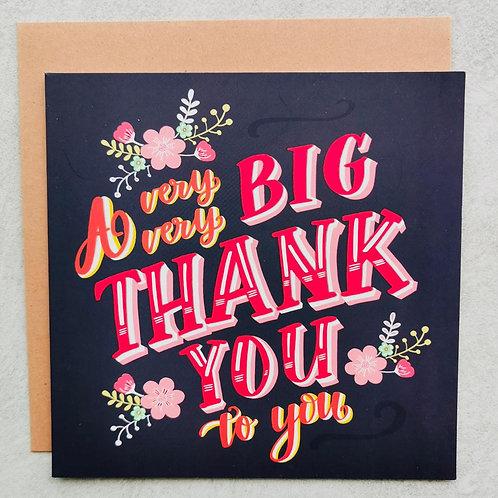 Emma5 Artisan | Greeting Cards | Big Thank You