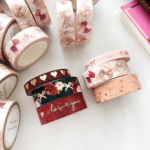 Paper Geek Co. | Washi Tape | Valentine Collection