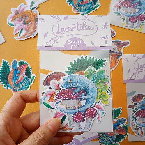 Hsieying | Stickers | Lacertilia