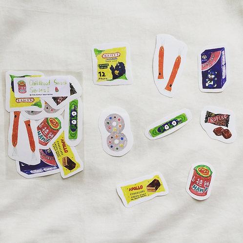 Fish Koou | Stickers | Childhood Snack Series I
